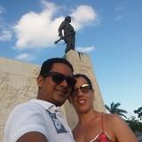 Famiglia a Trinidad, Sancti Spiritus, Cuba