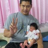 Famiglia a Muaeng, Lopburi, Thailand