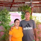 Familia anfitriona en Casilda, Casilda, Cuba