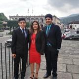 Famiglia a Antigua Guatemala, Guatemala