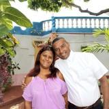 Gastfamilie in calle Juio Cuevas Díaz, Trinidad, Cuba