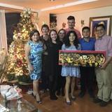 Familia anfitriona en Belisario Quevedo, Quito, Ecuador