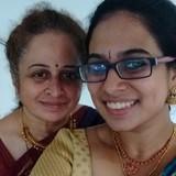 Famiglia a Nandambakkam, Chennai, India