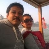 Família anfitriã em Sigra, Varanasi, India
