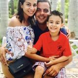 Familia anfitriona en Remedios , Remedios, Cuba