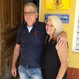 Familia anfitriona en 46, Casilda, Cuba
