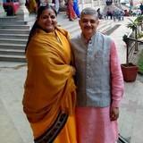 Familia anfitriona en Jaipur, India