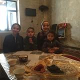 Familia anfitriona en Varzob, Dushanbe, Tajikistan