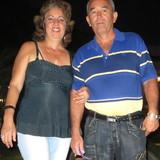 Familia anfitriona en Reparto Santa Barbara, Santiago de Cuba, Cuba