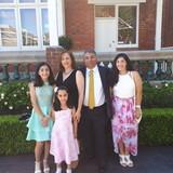 Familia anfitriona en Regents Park, Regents Park, Australia