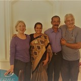 Familia anfitriona en pattalam road, Kochi, India