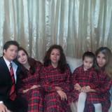 Familia anfitriona en Coyoacan , Ciudad de México, Mexico