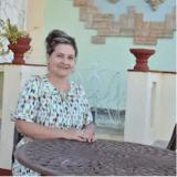 Familia anfitriona en Remedios, Cuba