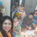 Familia anfitriona en Mansarovar, Jaipur, India