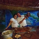 Famille d'accueil à Batey Mario López , Playa Larga, Cuba