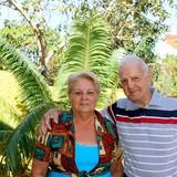 Família anfitriã em playa La Boca. Trinidad, La Boca, Cuba