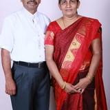 Famiglia a Kumarakom, Kottayam, India