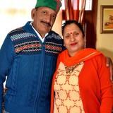 Famiglia a Sanjauli, Shimla, India