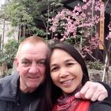 Familia anfitriona en Nakhon Phanom, pla pak, Thailand