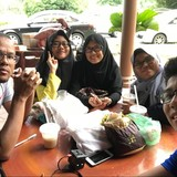 Familia anfitriona en DPULZE Shopping Centre, Cyberjaya, Malaysia