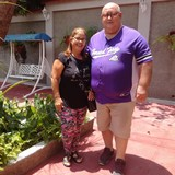 Familia anfitriona en Santiago de Cuba , Santiago de Cuba , Cuba