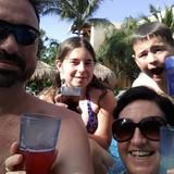 Famiglia a Red Creek, Santa Elena, San Ignacio, Cayo, Belize