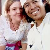Família anfitriã em Pemuteran, Indonesia