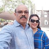 Famiglia a Fort Kochi, Kochi, India