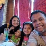Familia anfitriona en Kolkata, Kolkata, India