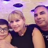 Familia anfitriona en Paseo del Prado , La Habana , Cuba