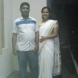 IndiaMS palya, Bangalore的房主家庭