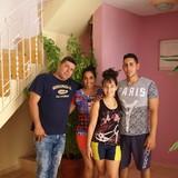 Família anfitriã em casco historico, Trinidad, Cuba