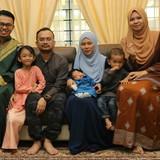 Familia anfitriona en Seremban, Seremban, Malaysia