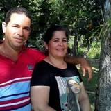 Familia anfitriona en Entrada Las Terrazas, Las Terrazas, Cuba