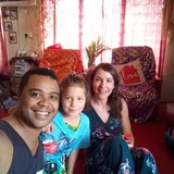 Host Family in Opposite malolo Hindu temple, NADI , Fiji