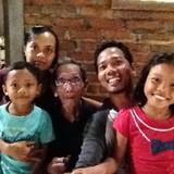 Família anfitriã em Tumbak bayuh, Tabanan bali, Indonesia