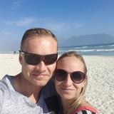 Famiglia a Bloubergstrand, Cape Town, South Africa