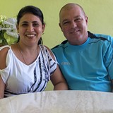 Família anfitriã em Trinidad, Trinidad, Sancti Spiritus, Cuba, Cuba