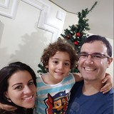Familia anfitriona en Vila Monte Alegre, Ribeirão Preto, Brazil