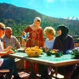 MoroccoAit bouguemez , Azilal的房主家庭
