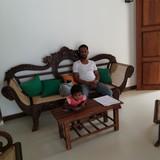Famiglia a negombo, Negombo, Sri Lanka