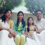Familia anfitriona en Kandachira Mangad P O, Kollam, India