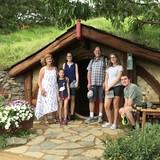 Familia anfitriona en Suburban, Canterbury, Australia