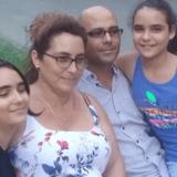 Familia anfitriona en  Rpto. Palomo Centro Sur, Holguín, Cuba