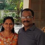 Famille d'accueil à Kumbalanghi Vazhi,, Cochin, India