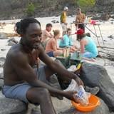 Familia anfitriona en Batonka Lodge, Victoria Falls, Zimbabwe