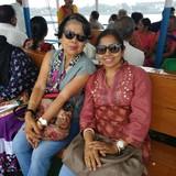 Familia anfitriona en KESTOPUR, CHRISTAIN PARA, KOLKATA, India