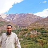 MoroccoVillage Arghen imlil bp 43 poste asni Marrakech, Imlil Marrakech Tensift El Haouz的房主家庭