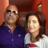 Familia anfitriona en 5 Palmas, San Agustin, Cuba