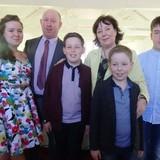 Família anfitriã em Ballina, Garranard, Ireland
